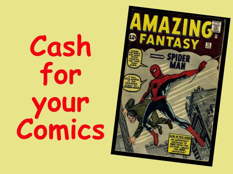 Cash for your Comics